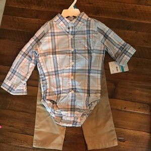 Carter's toddler boy outfit